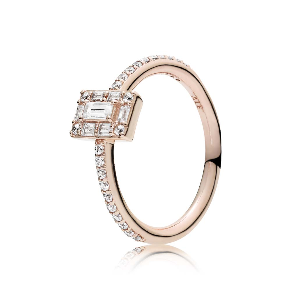 Luminous Ice Ring, PANDORA Rose™