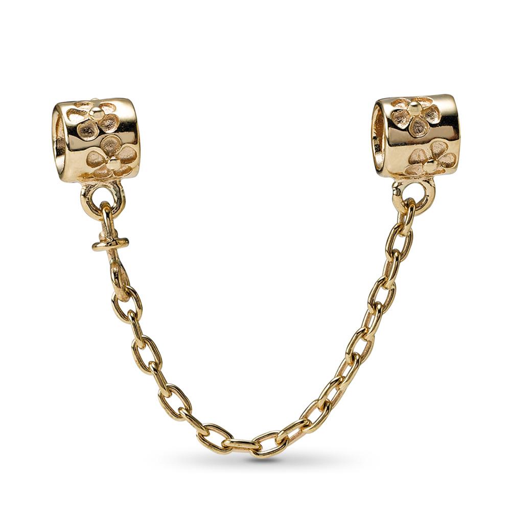 Gold safety chain, Or jaune 14 ct, Aucun autre matériel, Aucune couleur, Aucune pierre - PANDORA - #750312