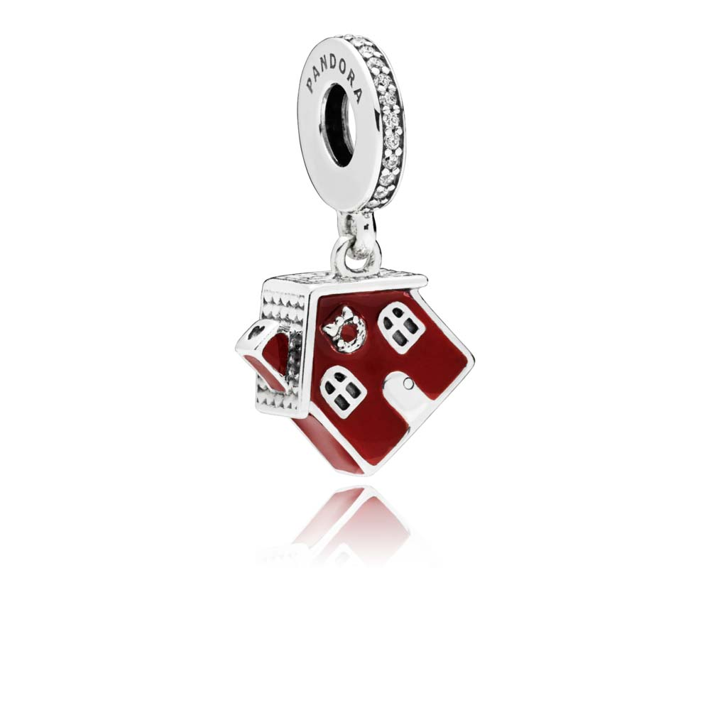 Cozy Christmas House Dangle Charm