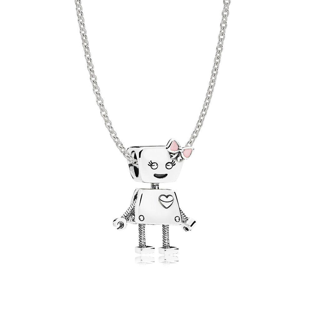 Bella Bot Necklace Set