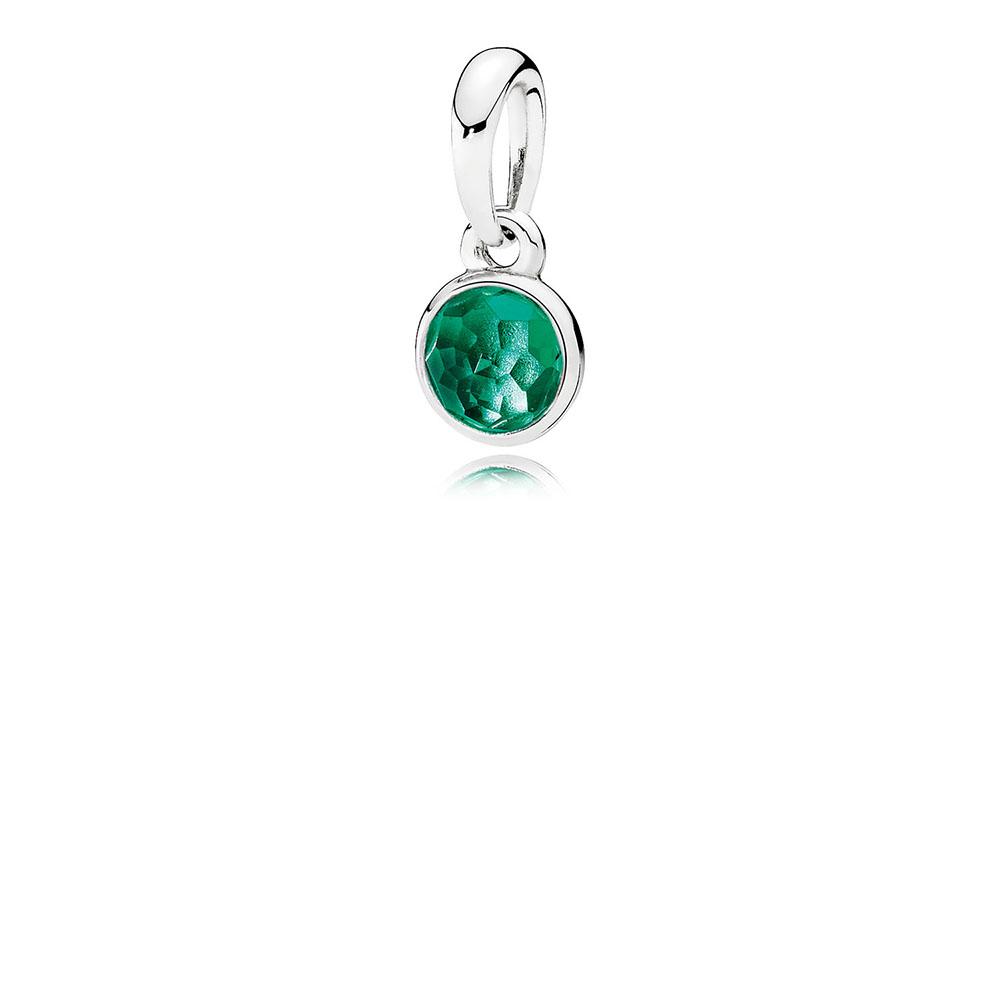 May Droplet, Royal-Green Crystal