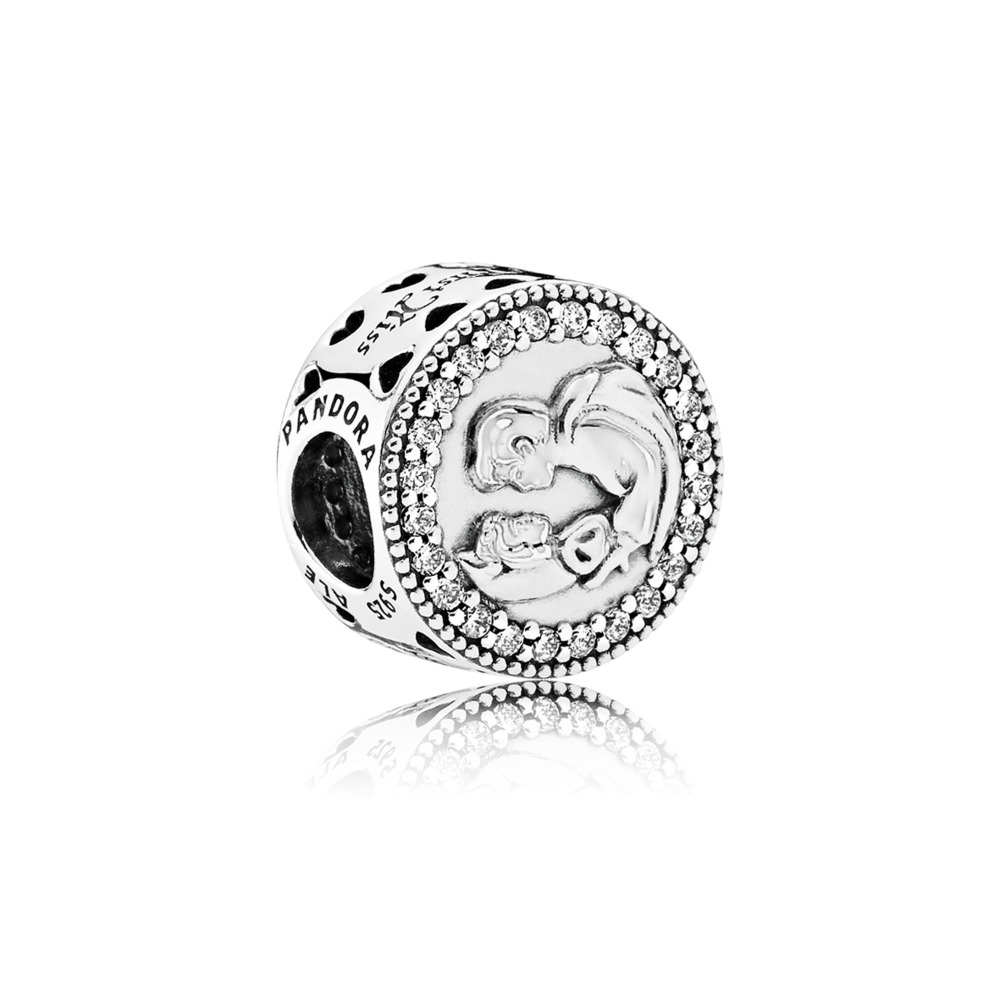 Disney, Snow White 80th Anniversary, Sterling silver, Cubic Zirconia - PANDORA - #792142CZ