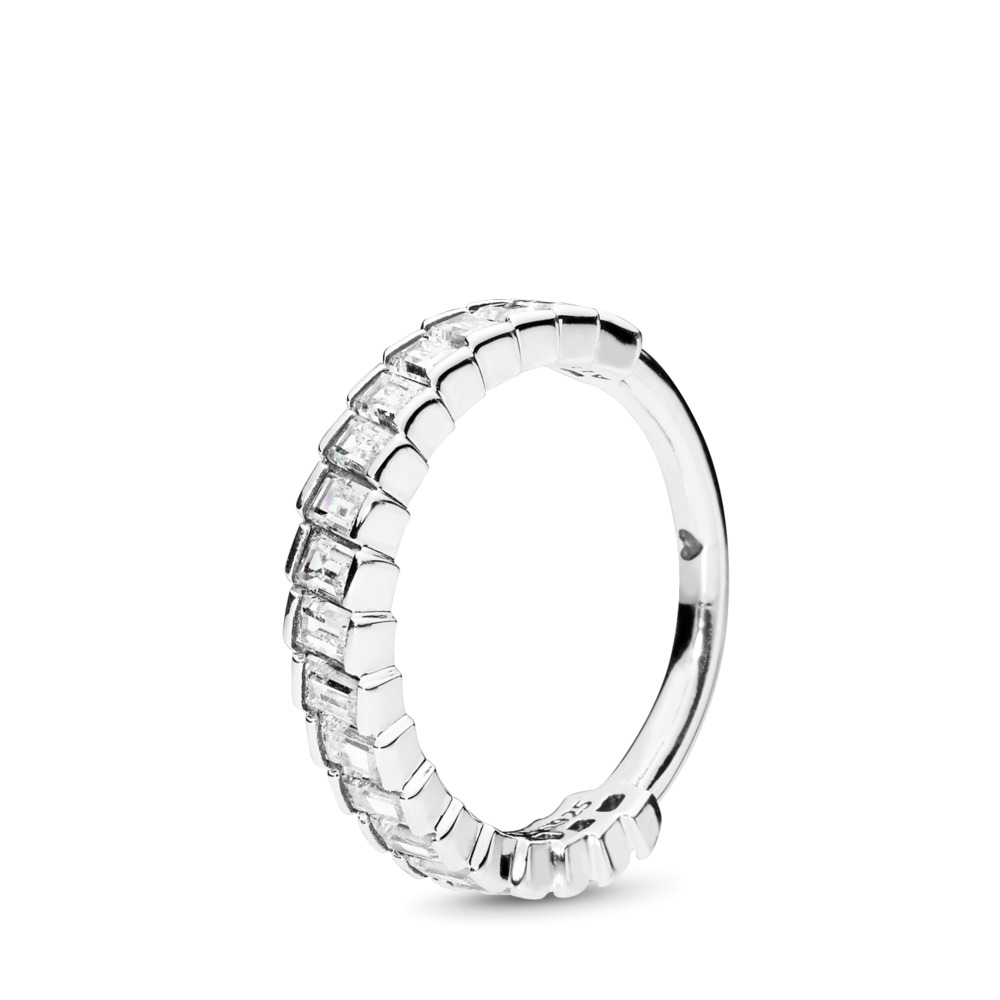 Glacial Beauty Ring, Sterling silver, Cubic Zirconia - PANDORA - #197744CZ