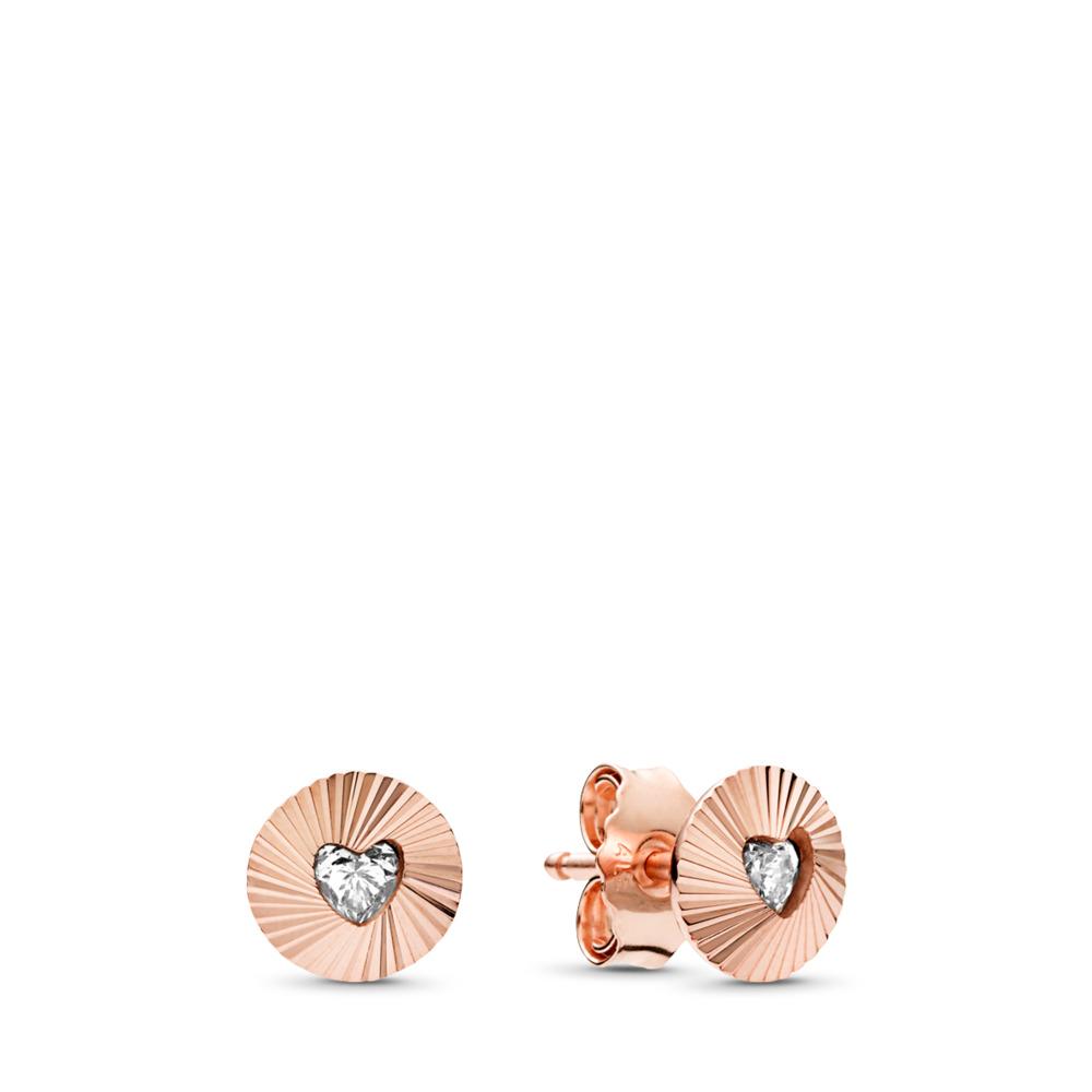 Éventails d'antan, PANDORA Rose et cz incolore, PANDORA ROSE, Aucun autre matériel, Aucune couleur, Zircon cubique - PANDORA - #287297CZ