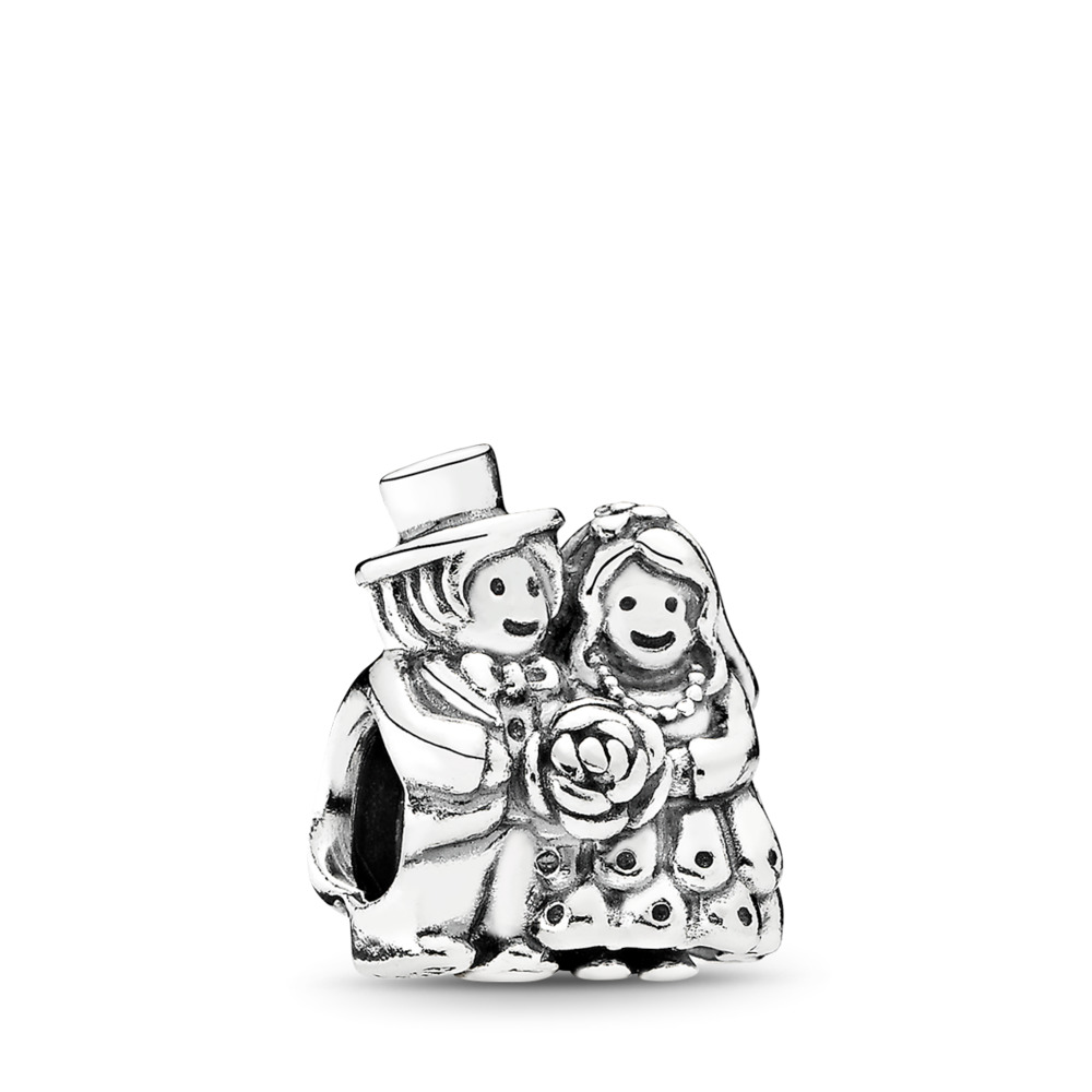 Mr. & Mrs., Sterling silver - PANDORA - #791116