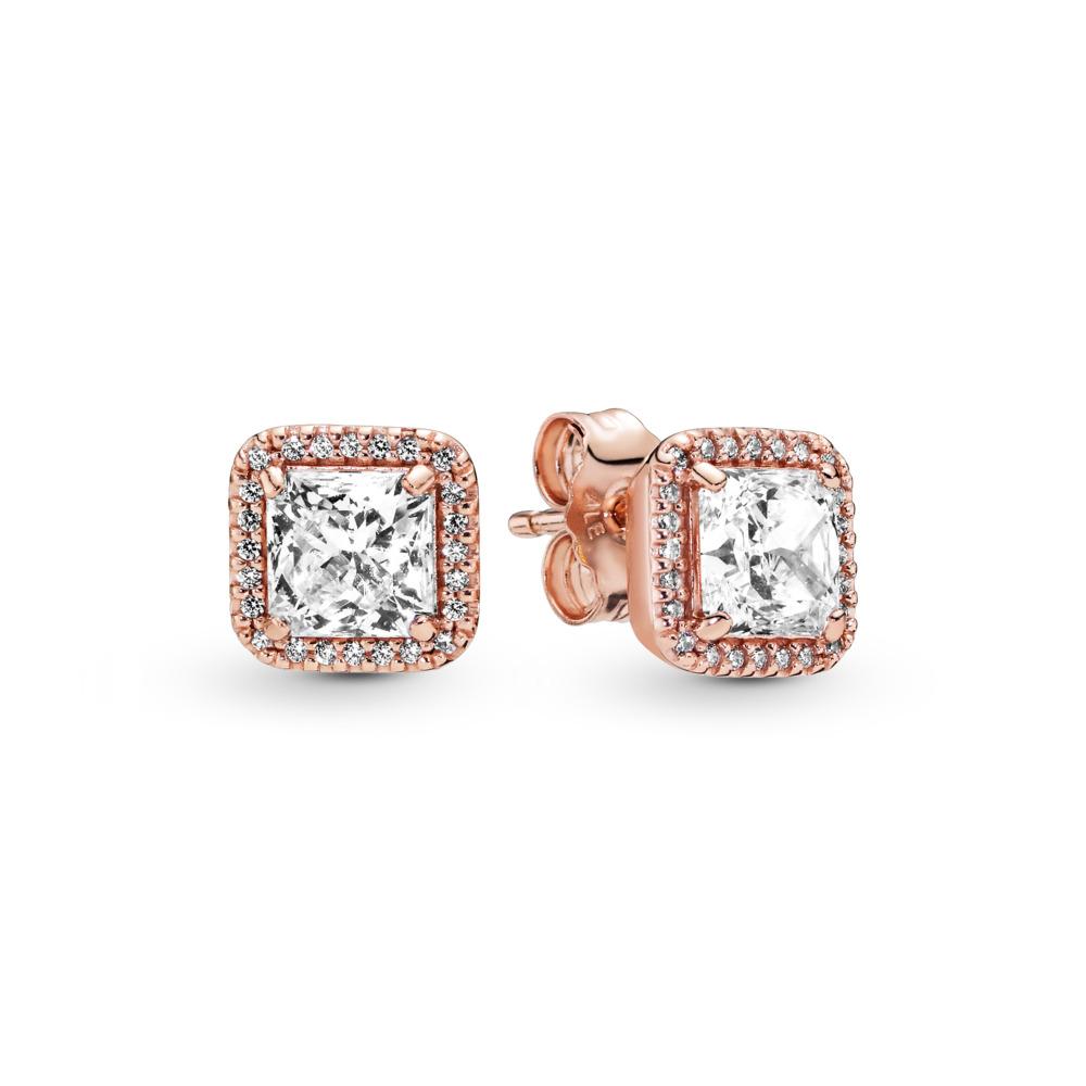 Timeless Elegance, PANDORA Rose™ & Clear CZ, PANDORA Rose, Cubic Zirconia - PANDORA - #280591CZ