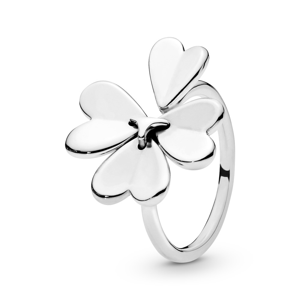 Limited Edition Moving Clover Ring, Sterling silver - PANDORA - #197949