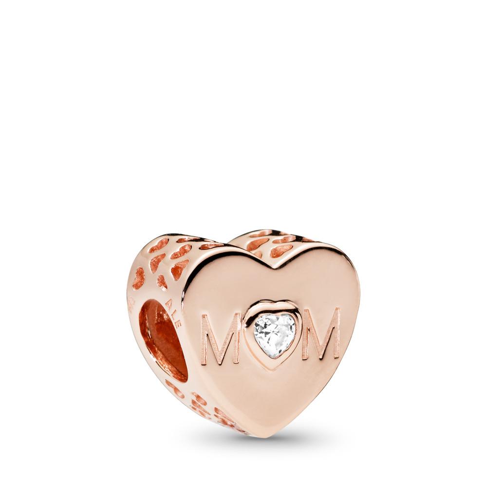 Un cœur de mère, PANDORA Rose, cz incolore, PANDORA ROSE, Aucun autre matériel, Aucune couleur, Zircon cubique - PANDORA - #781881CZ