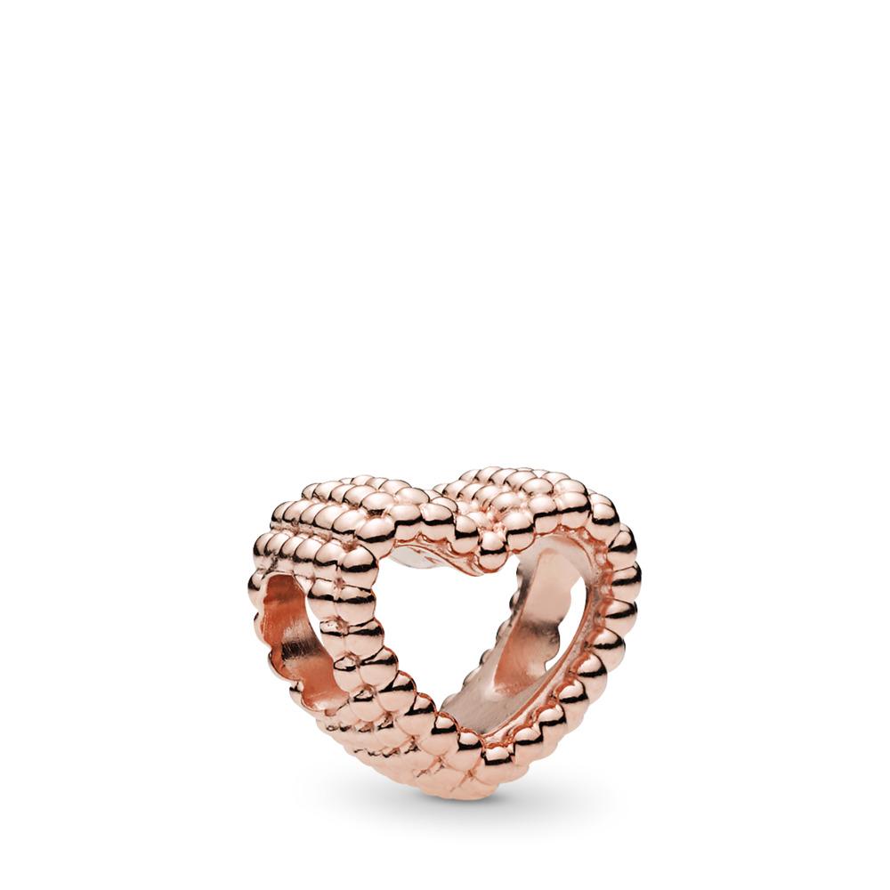 Charm Cœur à billes, PANDORA Rose, PANDORA ROSE, Aucun autre matériel, Aucune couleur, Aucune pierre - PANDORA - #787516