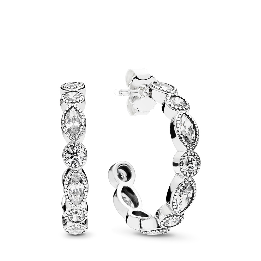 Alluring Brilliant Marquise, Clear CZ, Sterling silver, Cubic Zirconia - PANDORA - #290724CZ