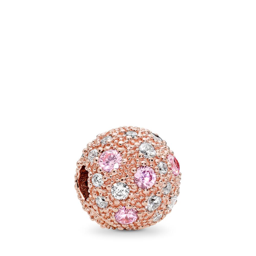 Voie lactée, PANDORA RoseMC et cz rose et incolore, PANDORA ROSE, Aucun autre matériel, Aucune couleur, Zircon cubique - PANDORA - #781286PCZ