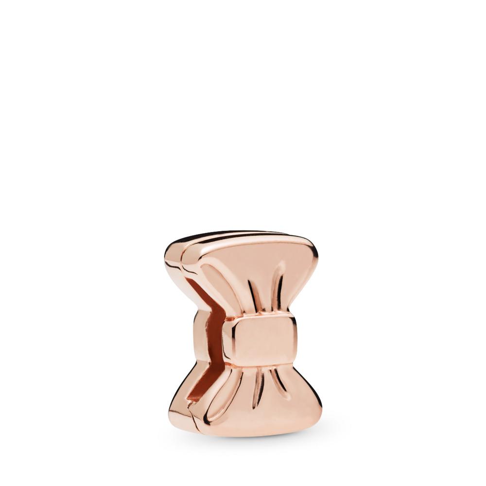 PANDORA Reflexions™ Sweet Bow Charm, PANDORA Rose™, PANDORA Rose, Silicone - PANDORA - #787582