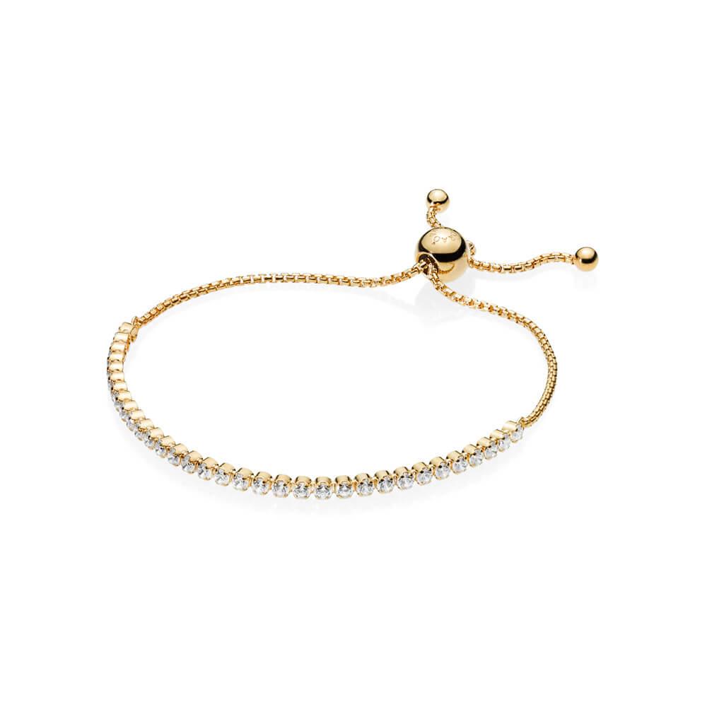 Bracelet Fil scintillant, PANDORA Shine et cz incolore
