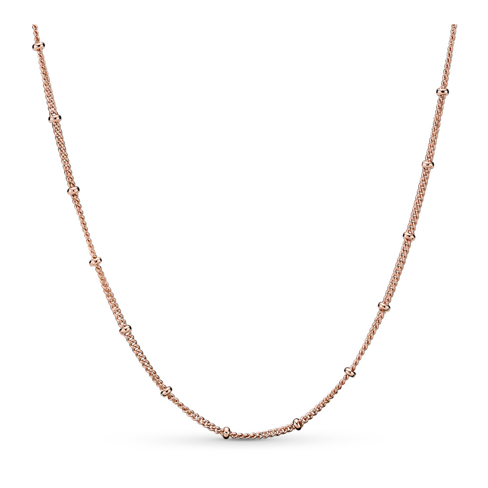 Pandora Rose™ Beaded Necklace, PANDORA Rose - PANDORA - #387210