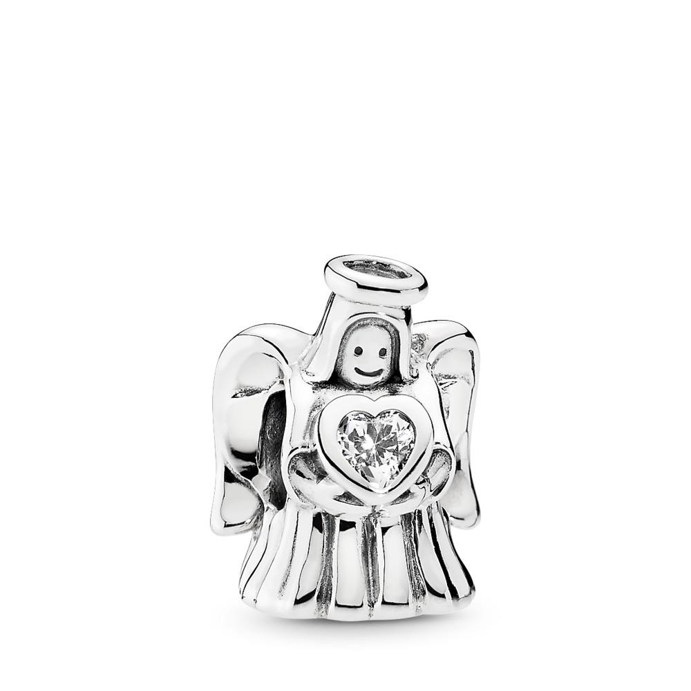 Angel of Love, Clear CZ, Sterling silver, Cubic Zirconia - PANDORA - #792010CZ