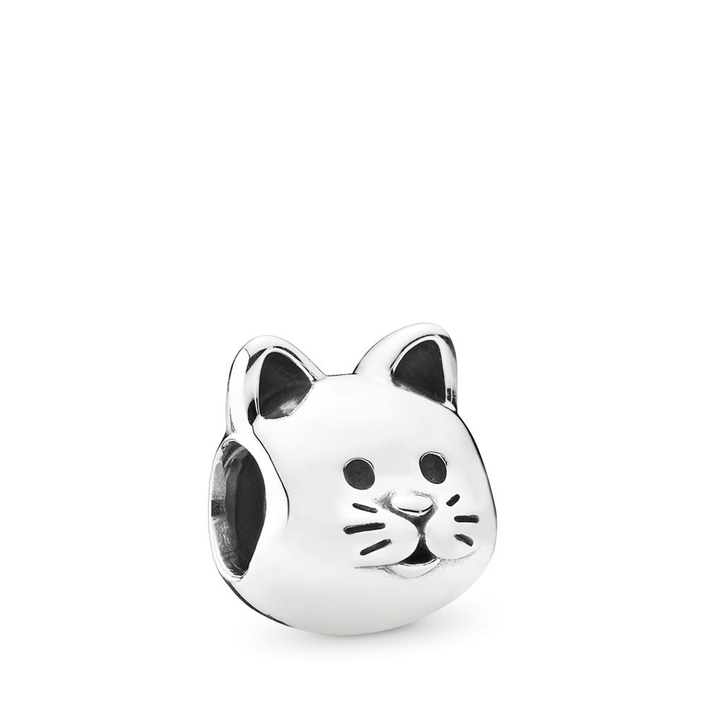 Curious Cat, Sterling silver - PANDORA - #791706