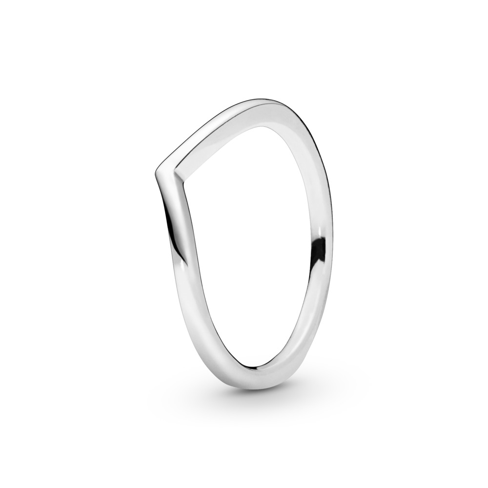 71f066f4e Polished Wishbone Ring