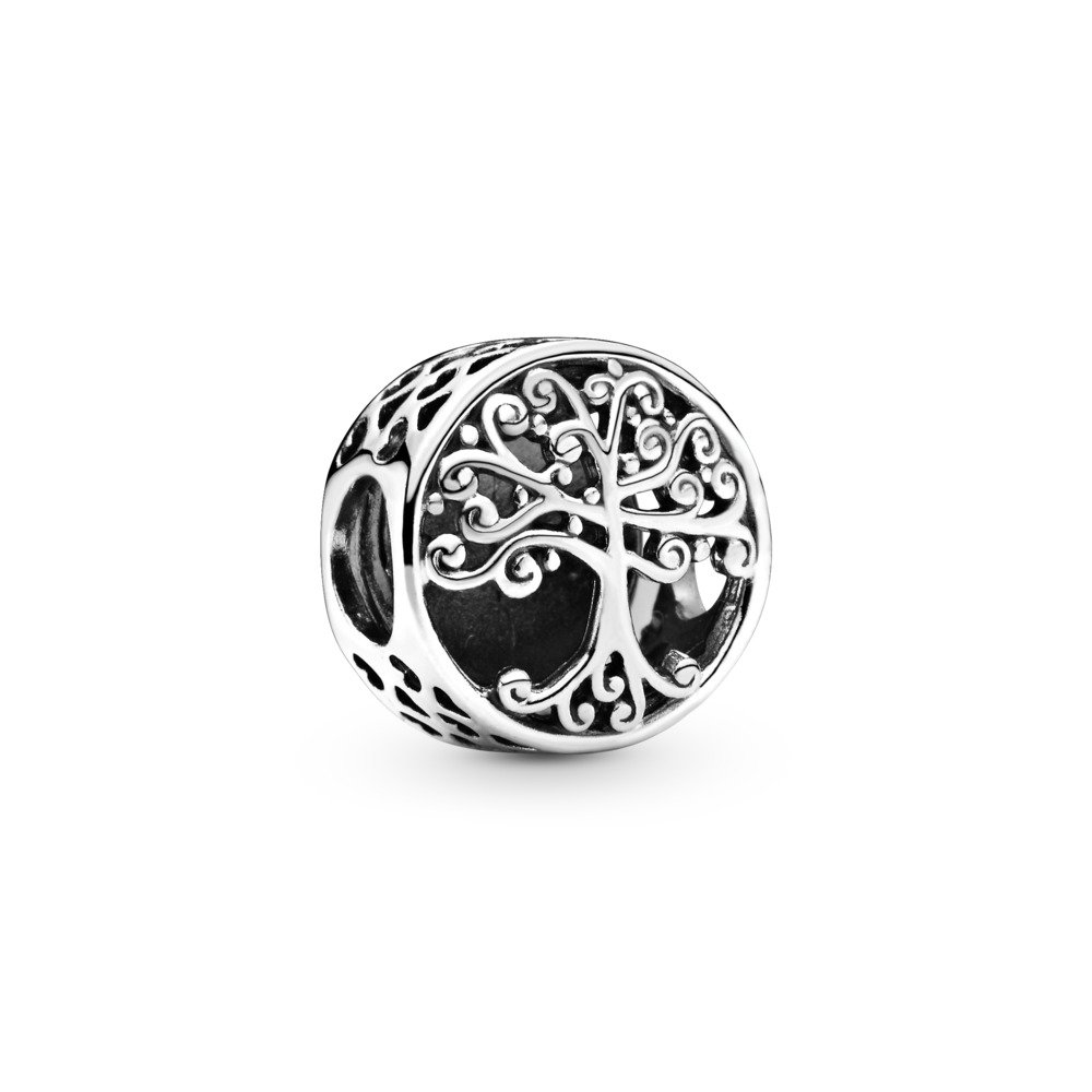 Family Roots Charm, Sterling silver - PANDORA - #797590