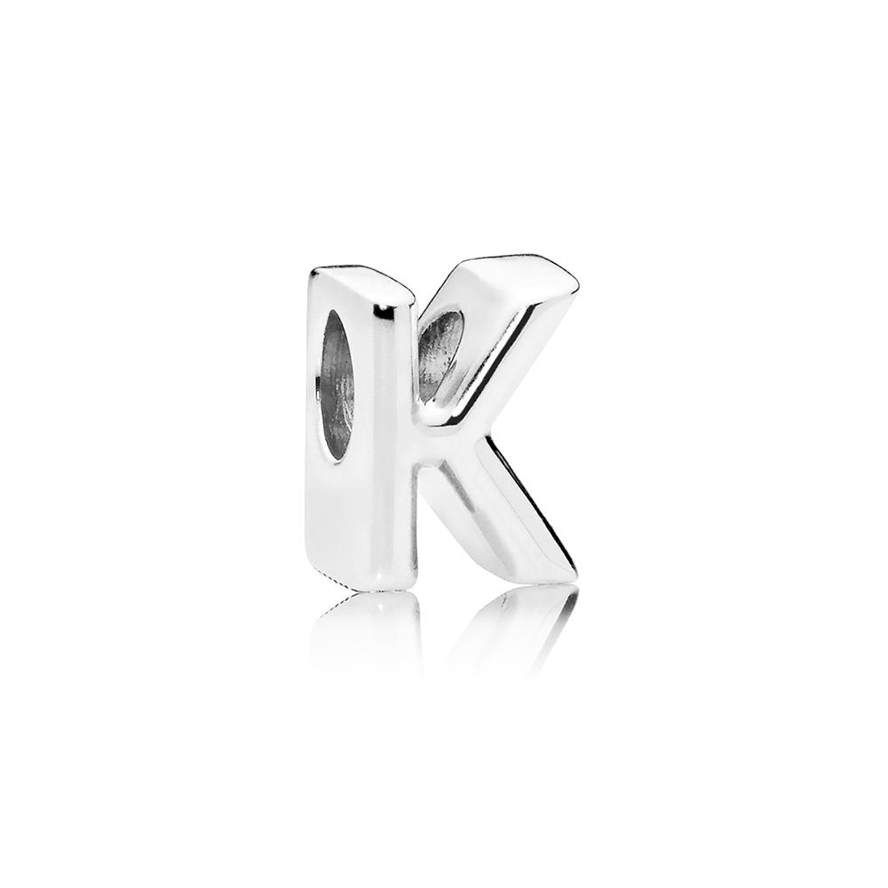 Letter K Charm