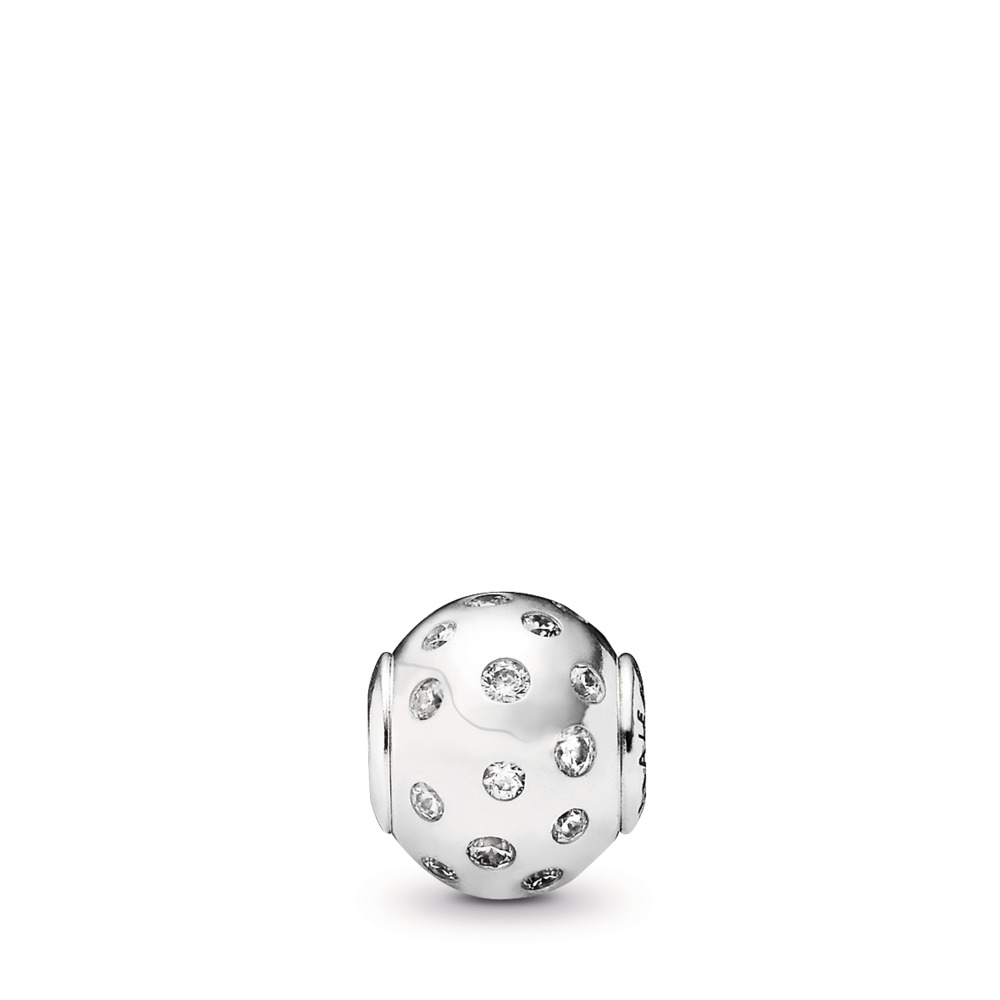 JOIE, Argent sterling, Silicone, Aucune couleur, Zircon cubique - PANDORA - #796020CZ