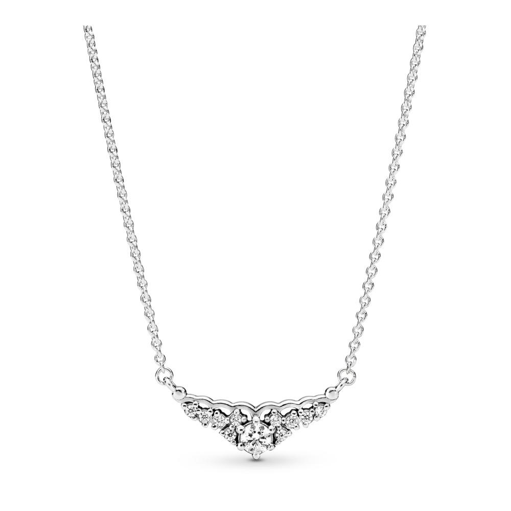 Fairytale Tiara, Clear CZ, Sterling silver, Cubic Zirconia - PANDORA - #396227CZ