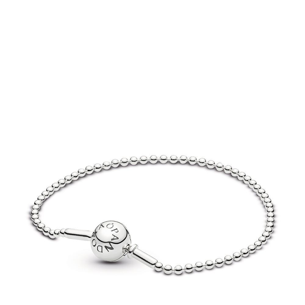 064157a7e ESSENCE COLLECTION Beaded Bracelet in Sterling Silver, Sterling silver -  PANDORA - #596002