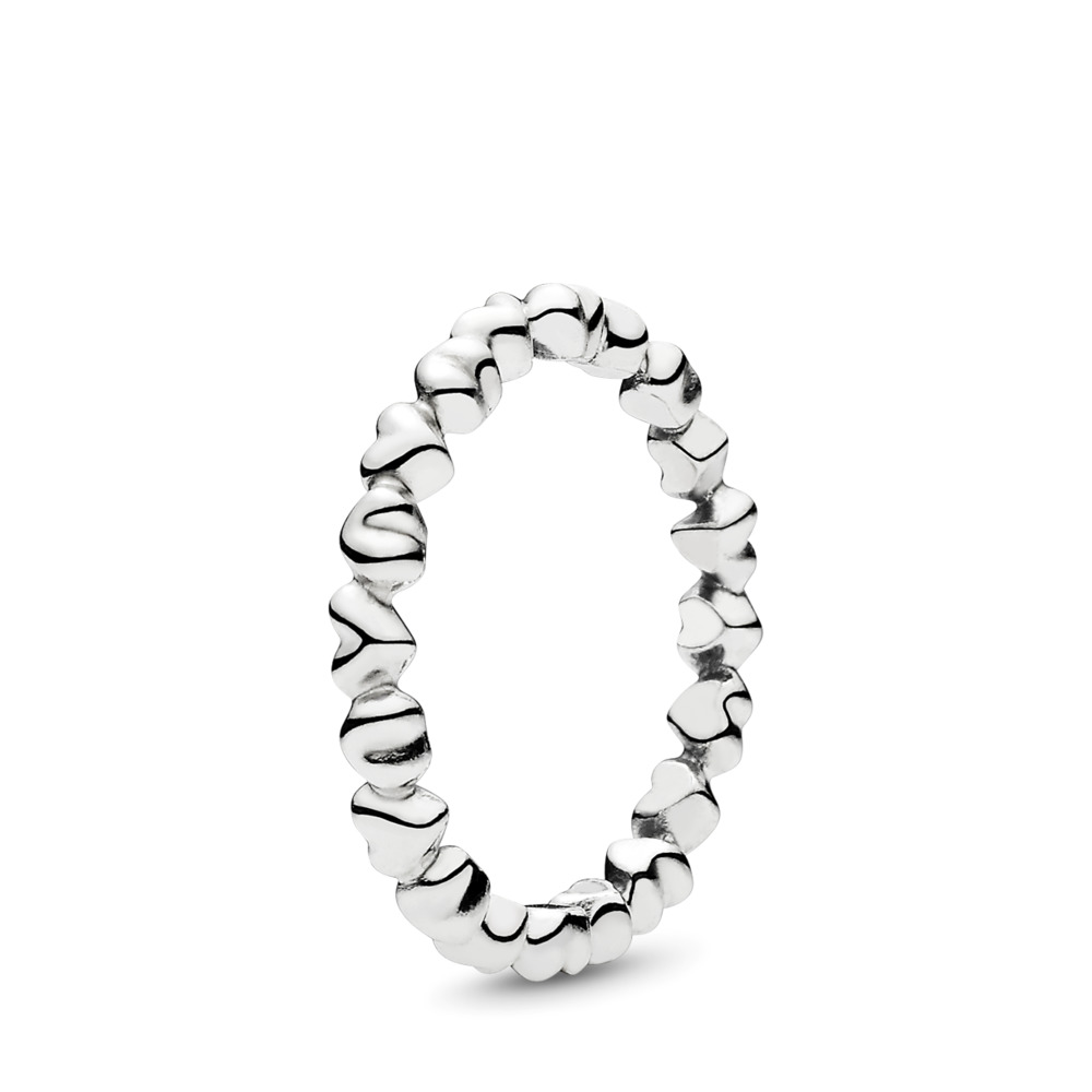 Forever Love Stackable Ring, Sterling silver - PANDORA - #190837
