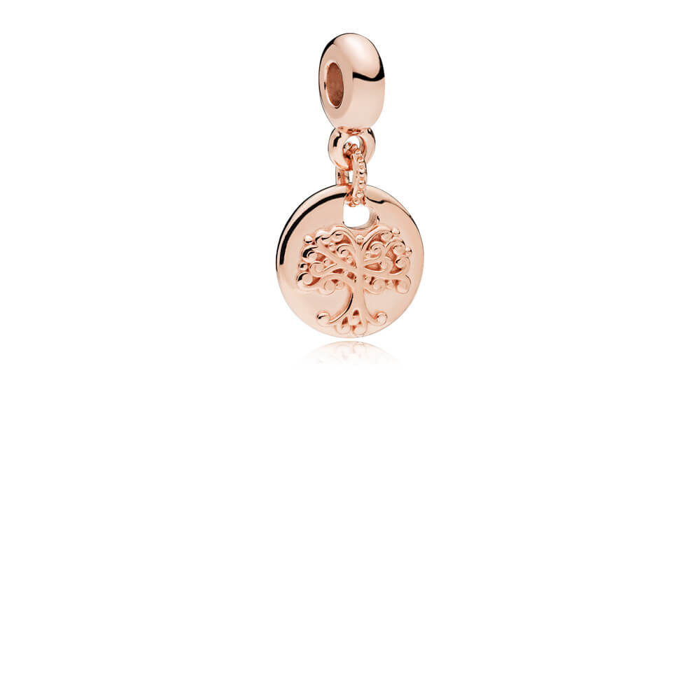 In My Heart Dangle Charm, PANDORA Rose™ & Clear CZ