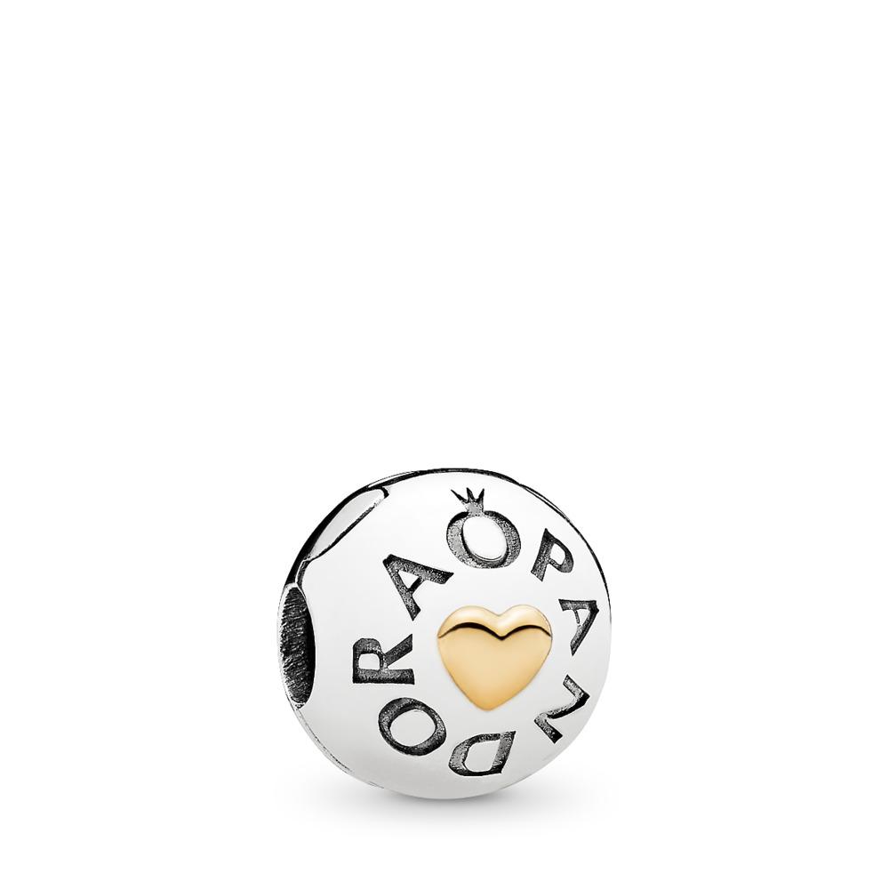 Cœur PANDORA, Deux Tons, Aucun autre matériel, Aucune couleur, Aucune pierre - PANDORA - #796219