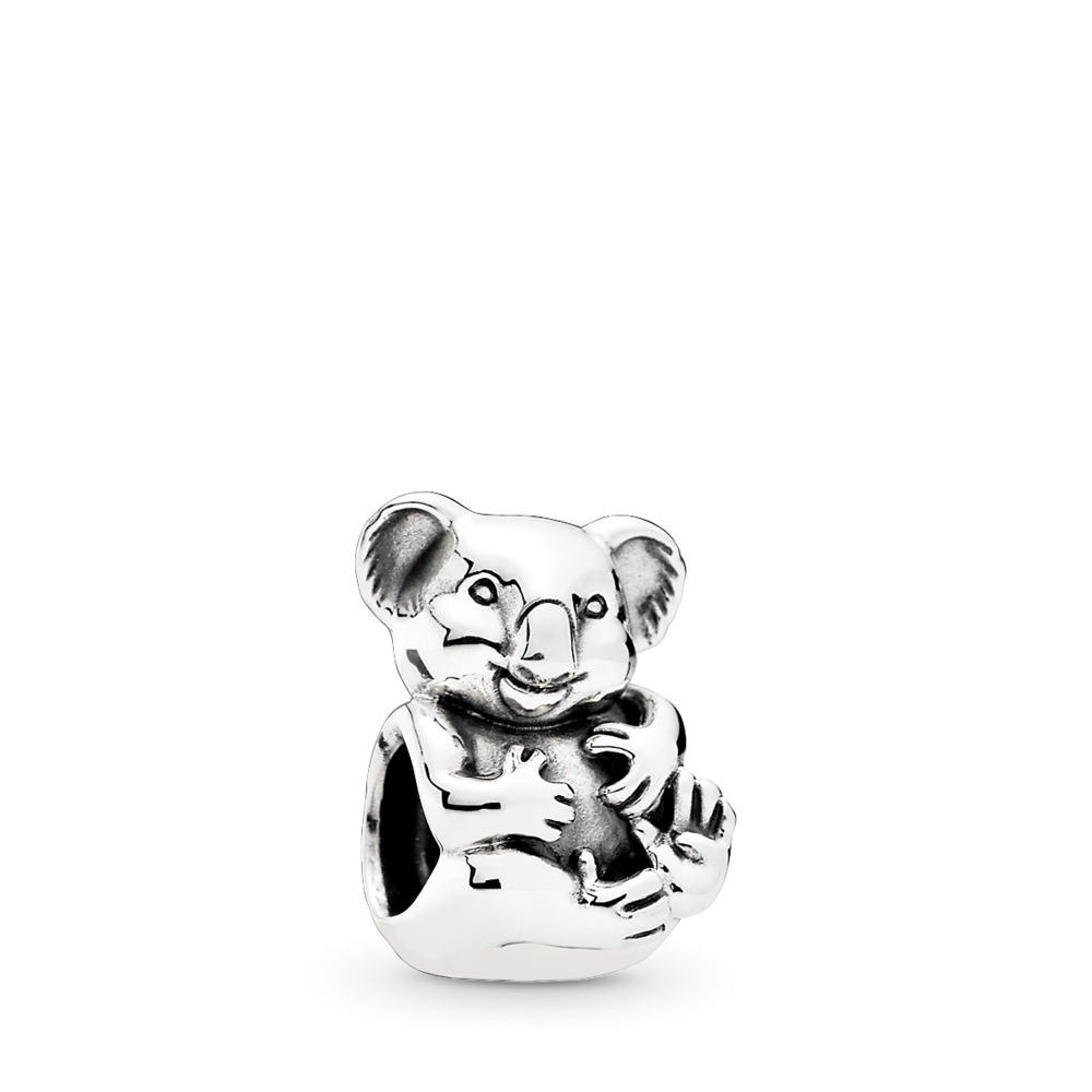 Cuddly Koala, Sterling silver - PANDORA - #791951