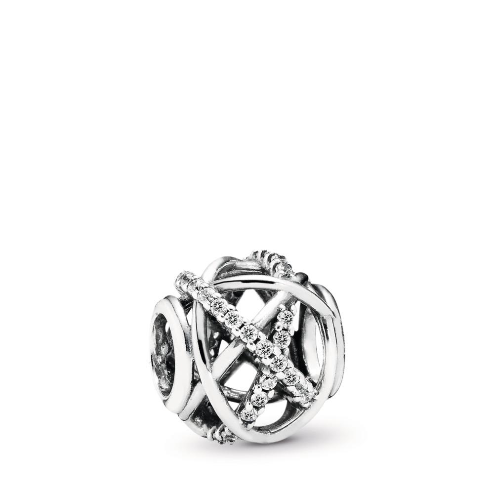 351eeaa9c Galaxy, Clear CZ, Sterling silver, Cubic Zirconia - PANDORA - #791388CZ