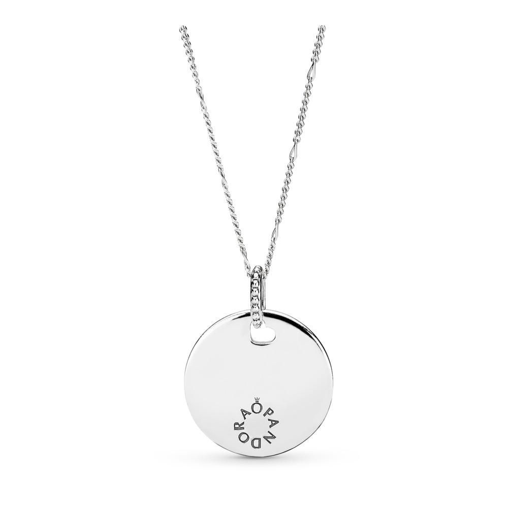 Collier avec pendentif Hommage, Argent sterling, Aucun autre matériel, Aucune couleur, Aucune pierre - PANDORA - #397122
