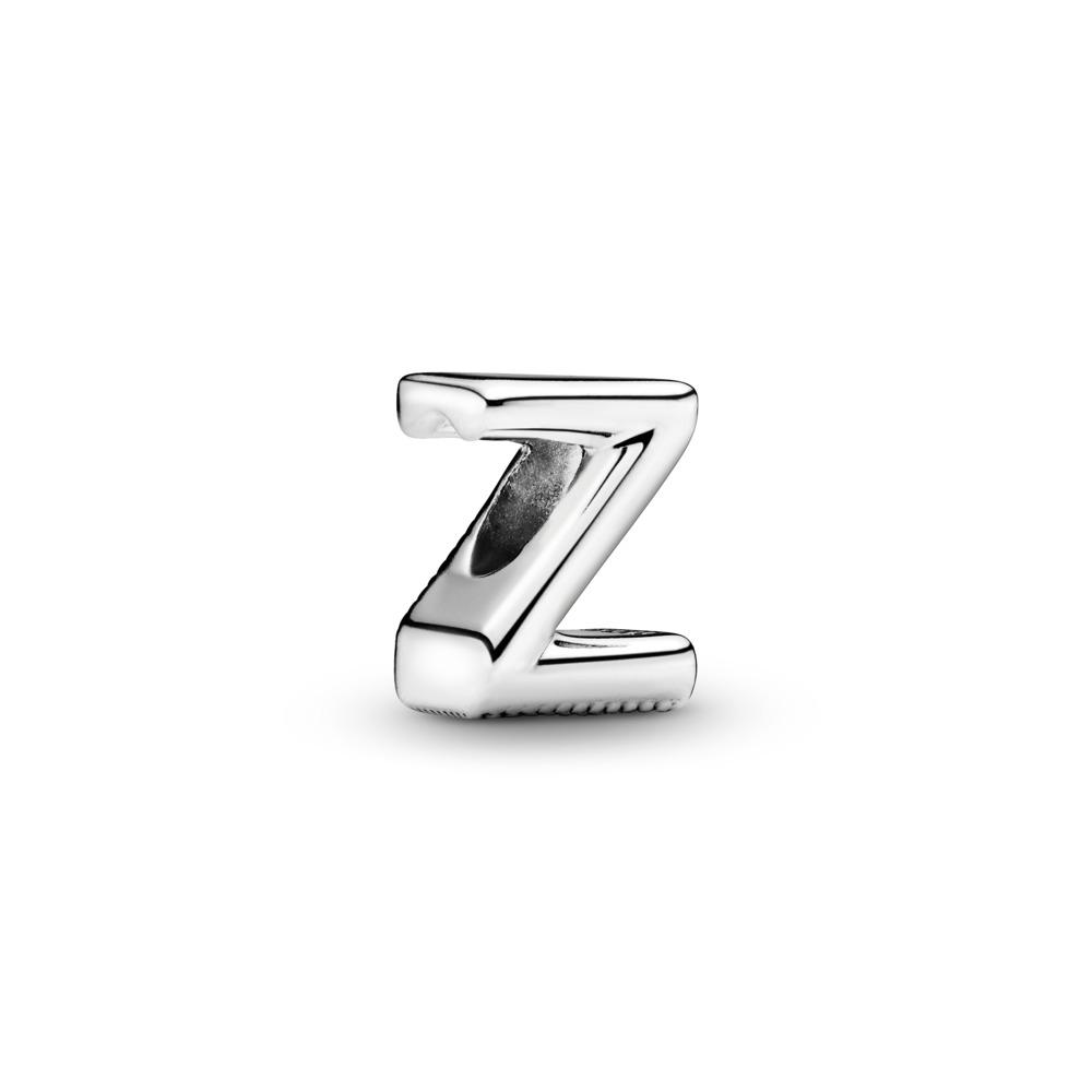 Charm Lettre Z, Argent sterling, Aucun autre matériel, Aucune couleur, Aucune pierre - PANDORA - #797480
