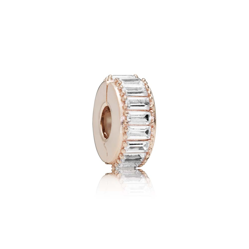 Ice Formation Clip, PANDORA Rose™