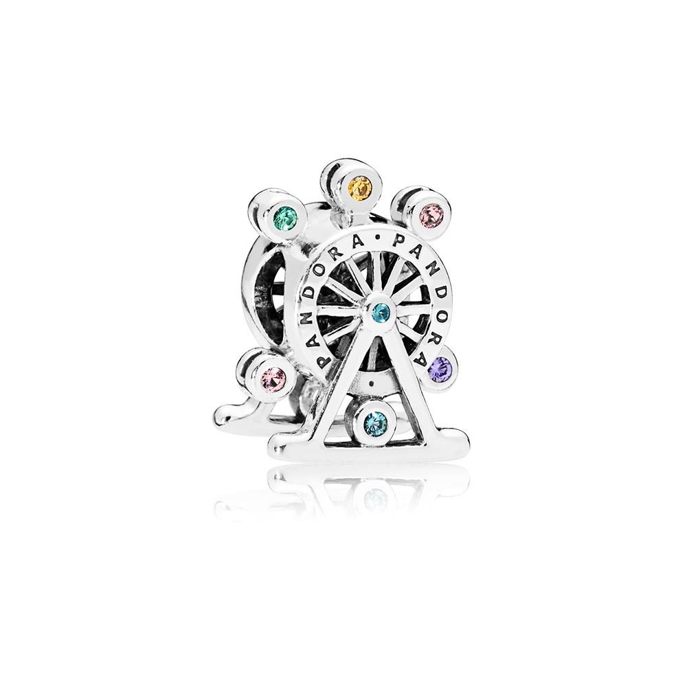 Charm La roue des couleurs, cristaux multicolores