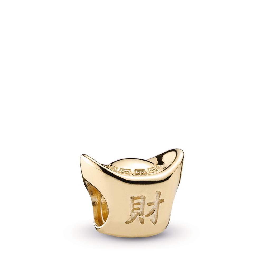 Gold Ingot, 14K Gold, Yellow Gold 14 k - PANDORA - #750823