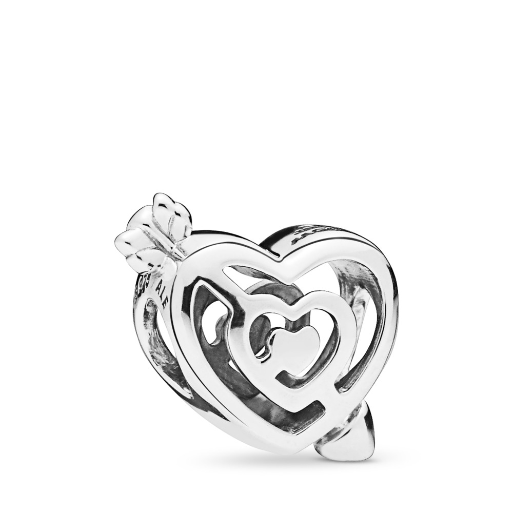 Path to Love Charm, Sterling silver - PANDORA - #797814