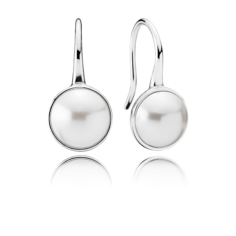Luminous Droplets, White Crystal Pearl