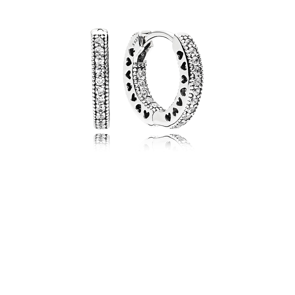 Hearts of PANDORA, Clear CZ 15mm