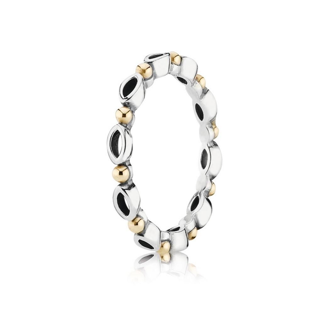 Silver ring, 14k