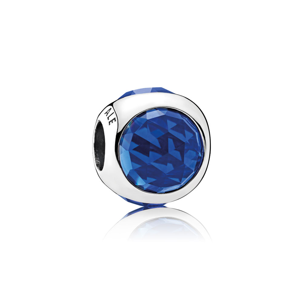 Radiant Droplet, Royal Blue Crystals