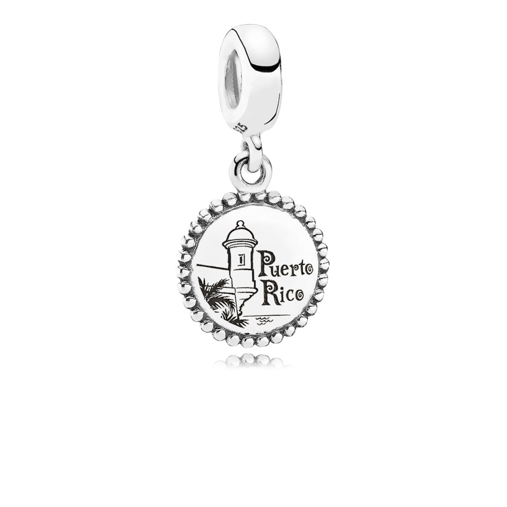 Puerto Rico, Sterling silver - PANDORA - #USB791169-G041