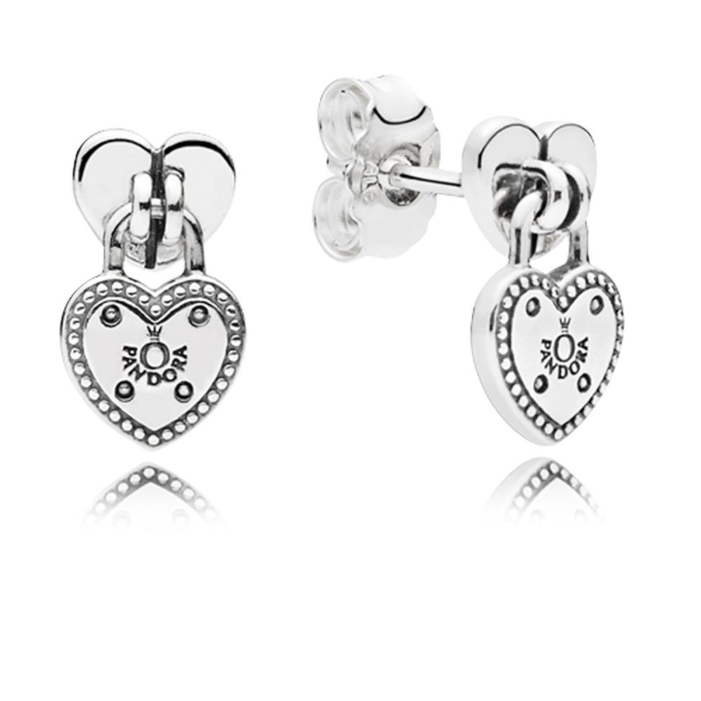 Love Locks Dangle Earrings