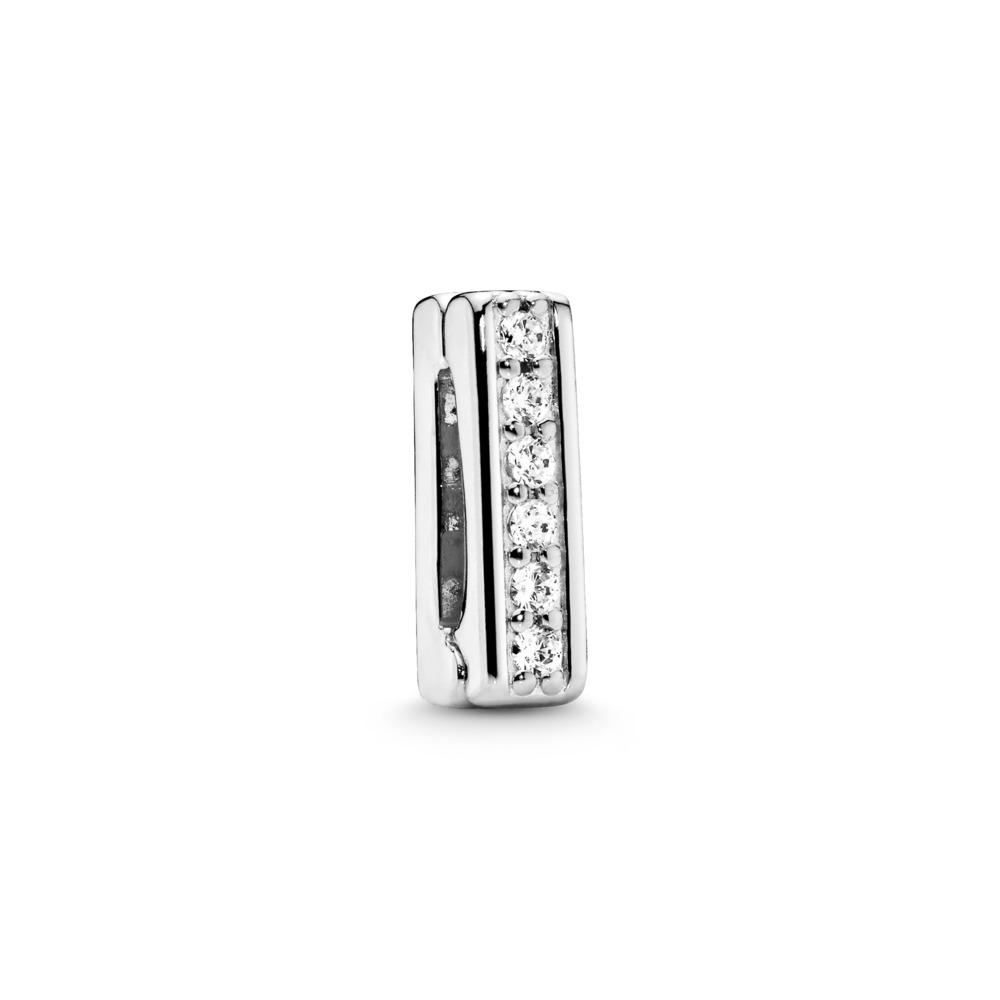 PANDORA Reflexions™ Timeless Sparkle Charm, Clear CZ, Sterling silver, Silicone, Cubic Zirconia - PANDORA - #797633CZ