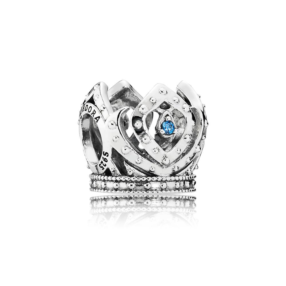 Disney, Elsa's Crown, Sterling silver, Cubic Zirconia - PANDORA - #791588CZB