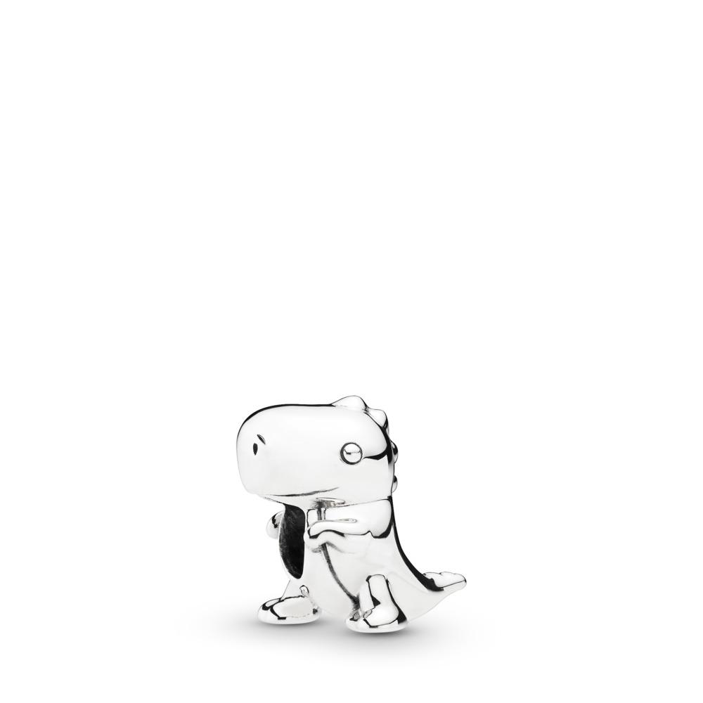 Dino the Dinosaur Charm, Sterling silver - PANDORA - #798123