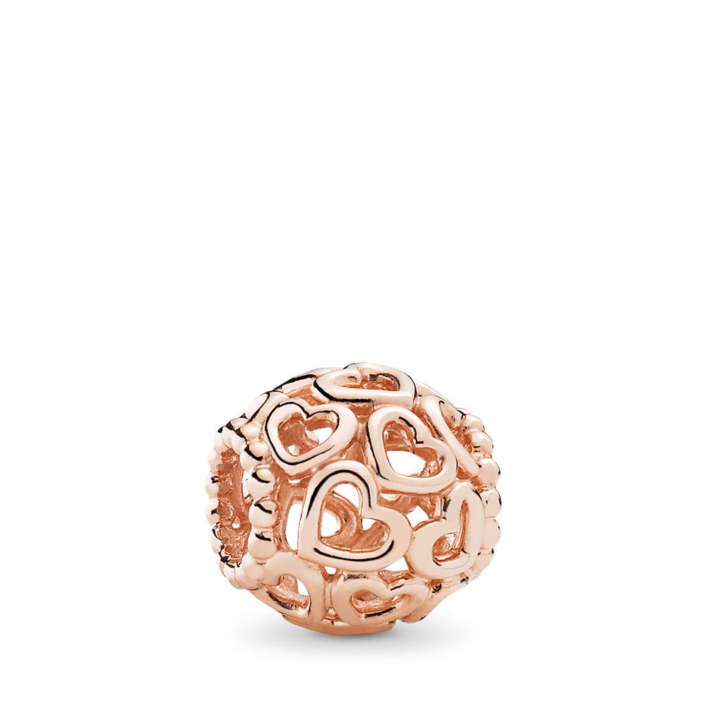 Ouvre ton cœur, Rose, PANDORA ROSE, Aucun autre matériel, Aucune couleur, Aucune pierre - PANDORA - #780964