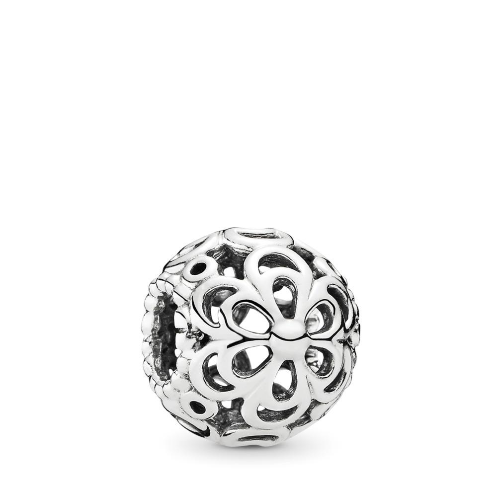 Picking Daisies Flowers, Sterling silver - PANDORA - #790965