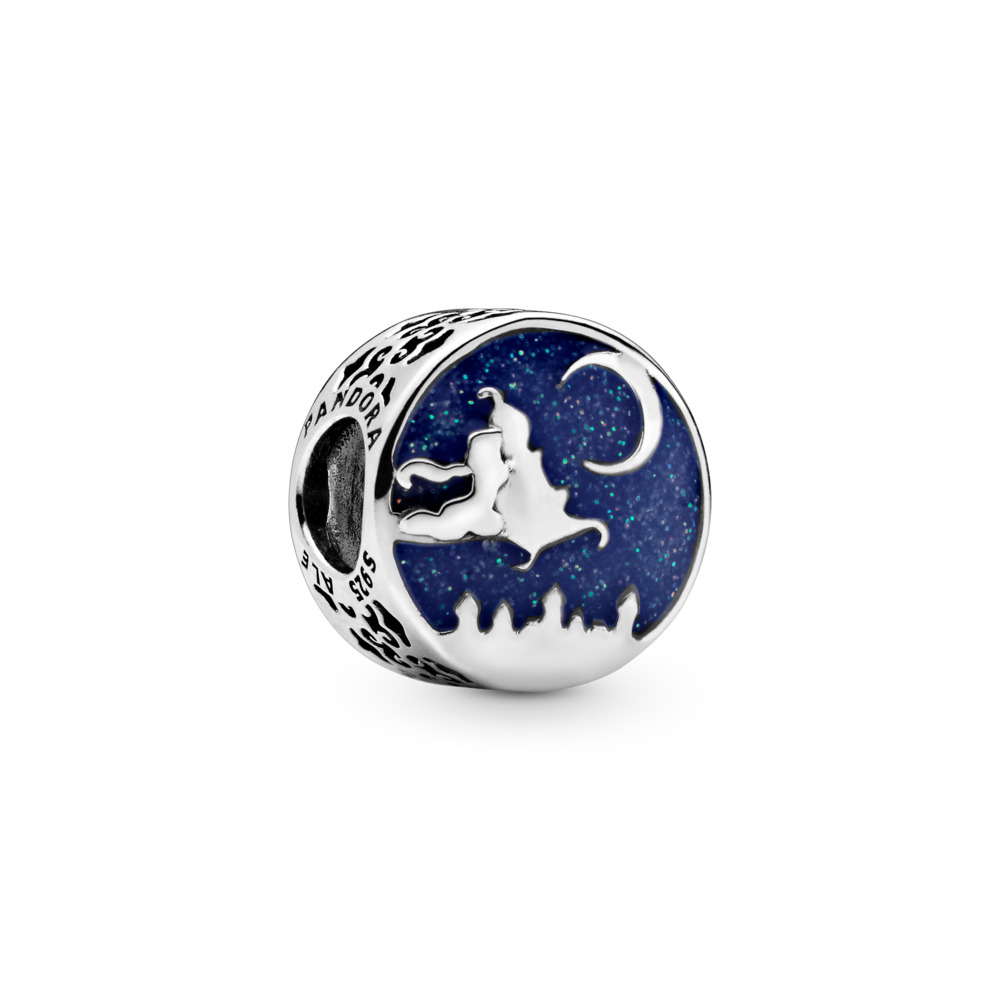 Disney, Magic Carpet Ride Charm, Sterling silver, Enamel, Blue - PANDORA - #798039ENMX