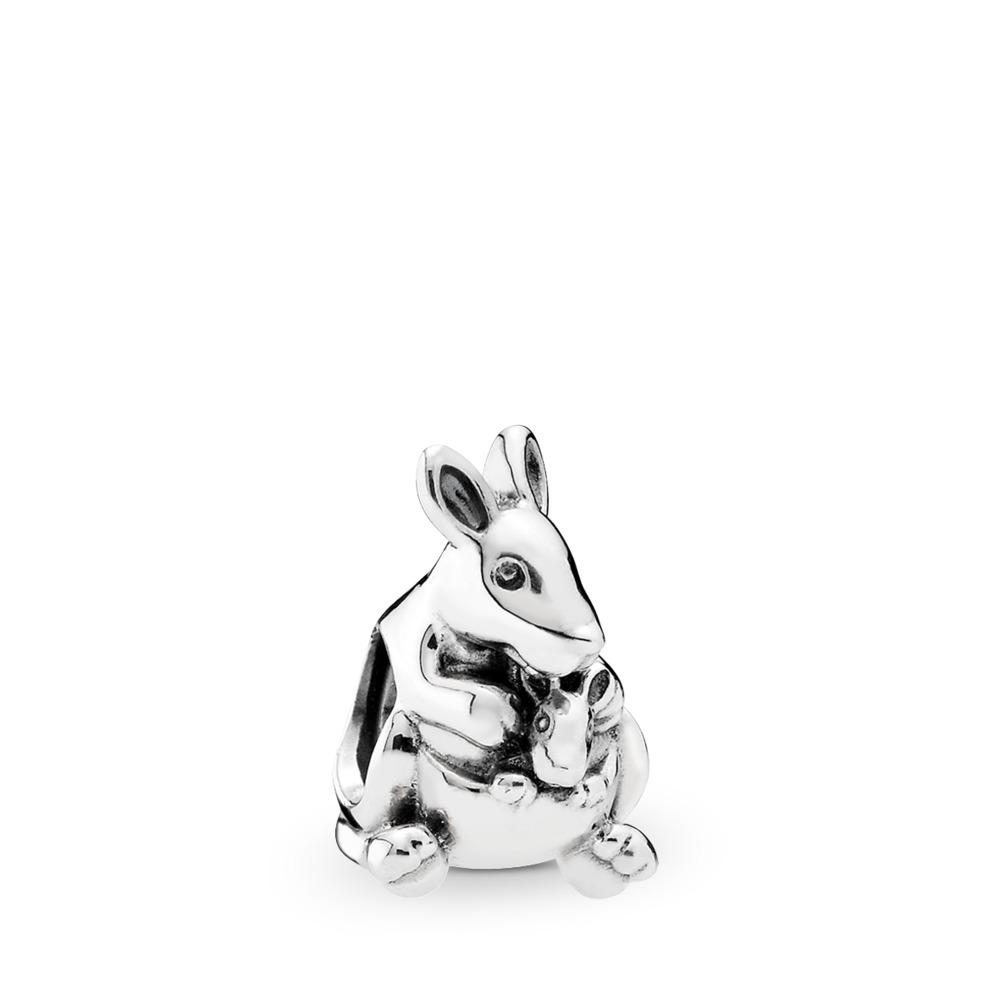 Kangaroo & Baby, Sterling silver - PANDORA - #791910